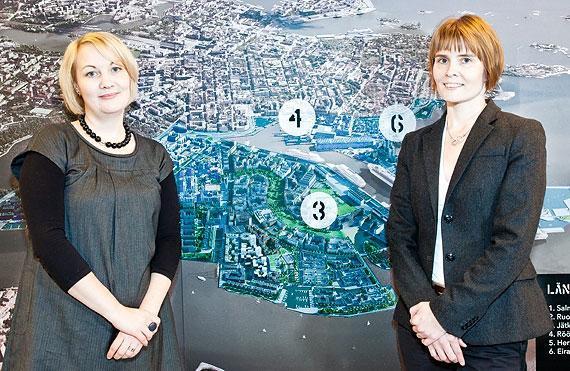Helsingin kaupunki: Outi Säntti, Anni Bäckman