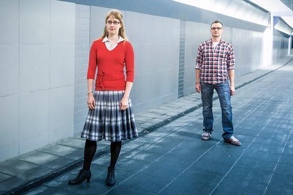Sorvin ääressä: Anu Pramila ja Tommi Halonen